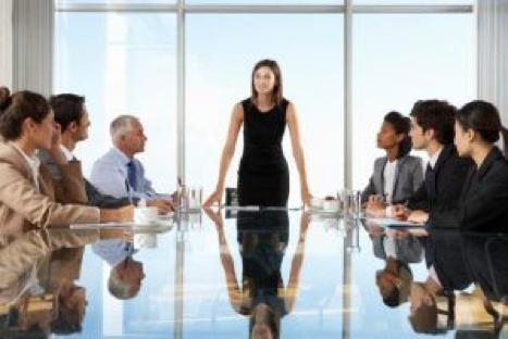 company secretary in meeting
