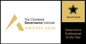 ICSA Governance Professional of the Year awards logo