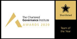 ICSA Team of the Year awards logo
